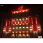 Архитектурное освещение здания